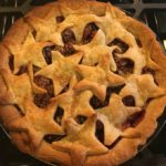 photo of star spangled pie