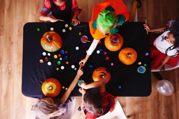 kids pumpkin crafts