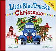 Little Blue Truck's Christmas book cover